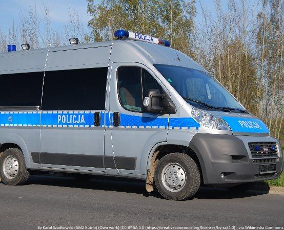 Policja Bielsko-Biała: Kuba i Śruba wspólnie z policjantami rozdawali odblaski