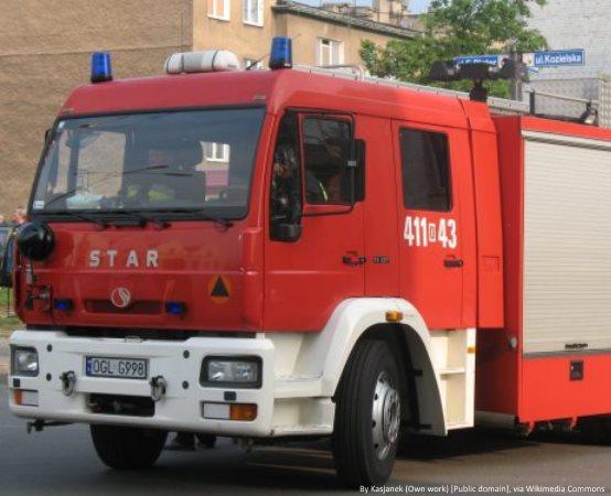 KMPSP Bielsko-Biała: Strażacy usuwają skutki wichur
